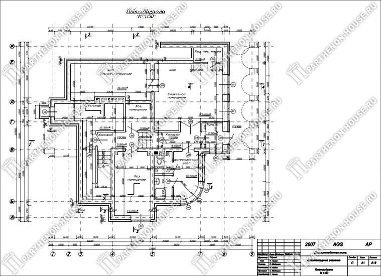 образец проекта индивидуального жилого дома