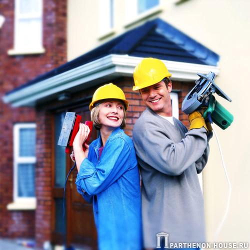 С чего начать строительство дома своими руками