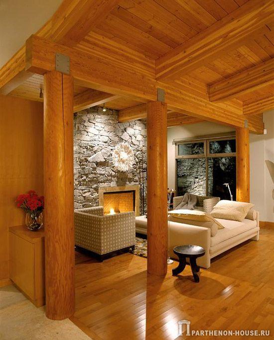 Crisp Comfortable Apartment Designs: Готовые комплекты бревенчатых домов из оцилиндрованного и профрезированного бревна
