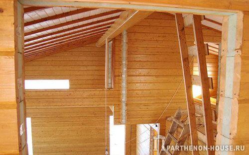 Строительство дома из утепленного клееного бруса