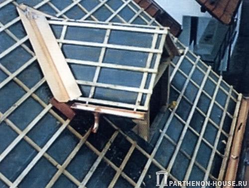 Окна на крыше своими руками