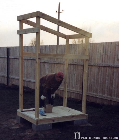Как построить дачный туалет своими руками фото