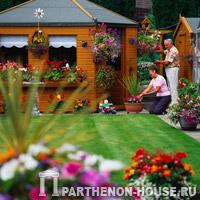Садовые постройки и обустройство участка