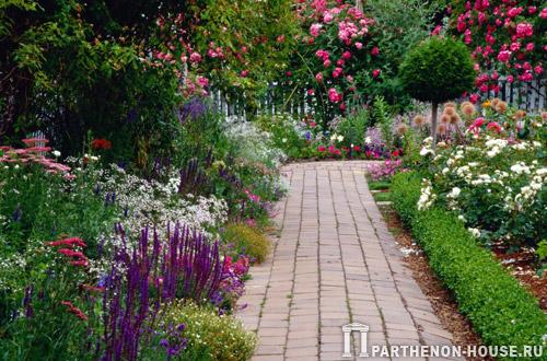 Обустройство участка - садовые дорожки и подъездные пути