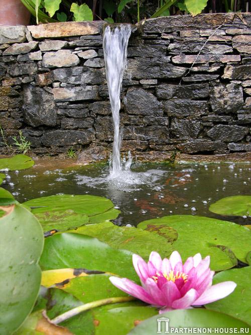 Насосы фонтаны водопады мини