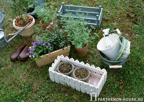 Контейнеры для садовых растений