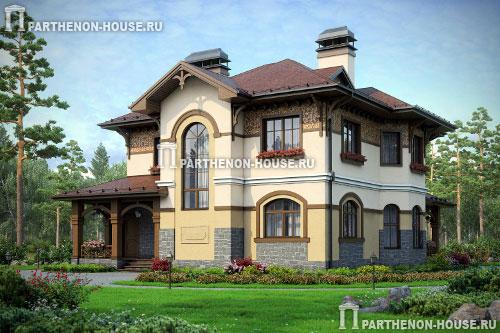 Фото домов с двумя входами