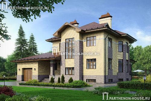 Проект домов с цокольным этажом фото