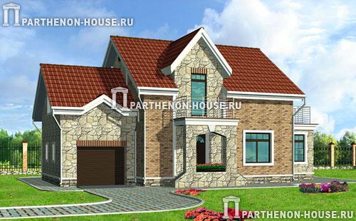 Проект дома с гаражом гб 194 2 194 20 кв м