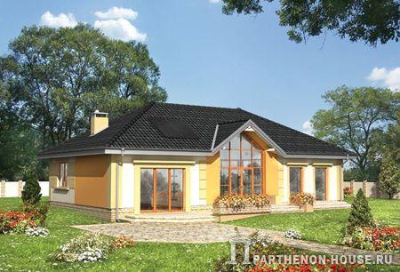 Готовые проекты домов из газобетона и пеноблоков - Каталог