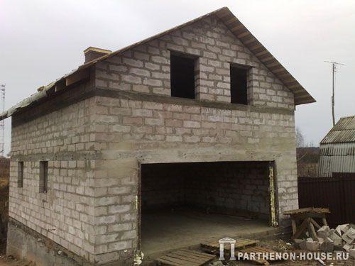 Стоимость строительства гаража