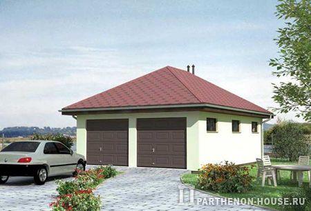 Проект гаража гараж № 32