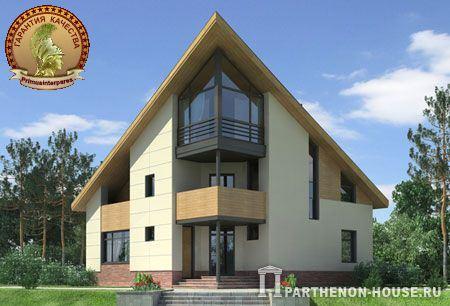 Проект двухэтажного дома с гаражом фото 106