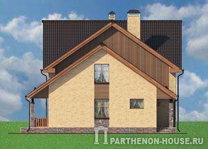 Стоимость коробки кирпичного дома