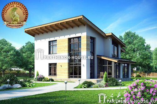 дома с односкатной крышей проекты фото