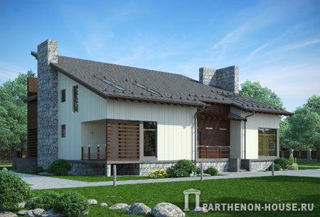 Проект дома ДКП 354-1