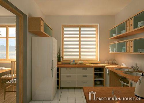 Планировка кухни и подсобных
