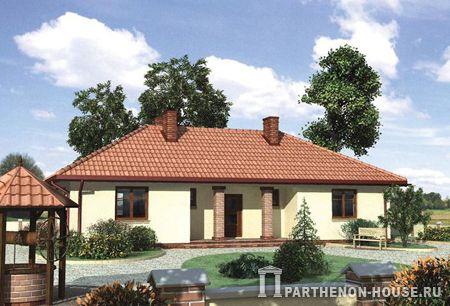 Проект дома к 146 8