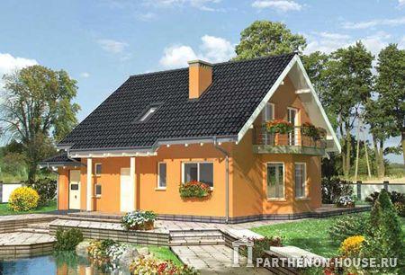 Одноэтажный дом с мансардой, с подвалом. (частично) Максимальное количество жильцов: 5 человек. Камин: да. Гараж: да