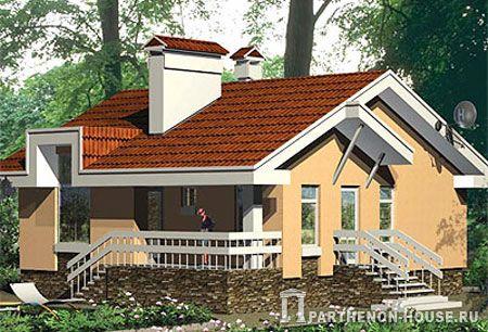 Проект дома из топ листа 2011 года