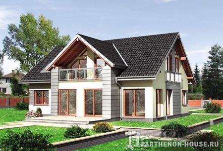 Проекты Домов Из Бетона