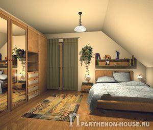 Спальня (мансарда)