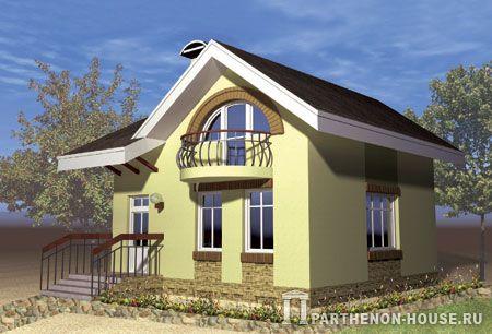 Проект дома ЯА 80-38