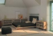 Детская комната в мансарде: 10 вариантов в деталях, дизайнерские проекты.