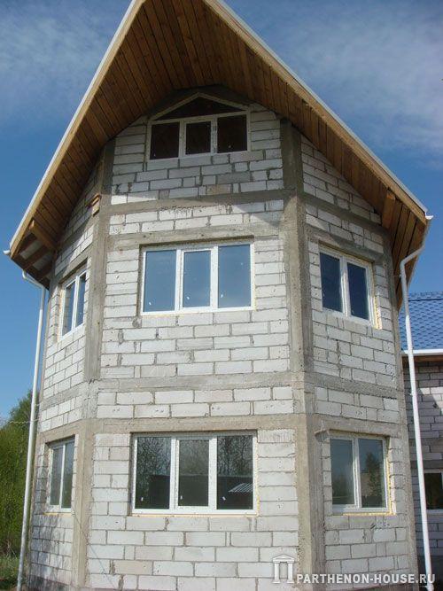 Европейское качество строительства дома из пеноблоков в Подмосковье