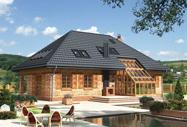 Проекты домов с вальмовыми и шатровыми крышами