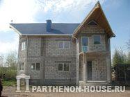 Проекты домов и коттеджей из газобетона