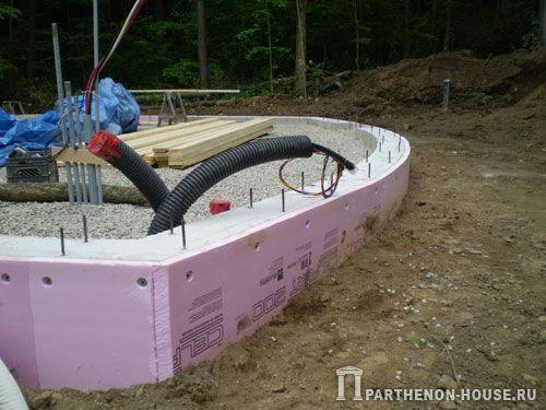 Строительство домов из пеноблоков. Стены из пеноблоков