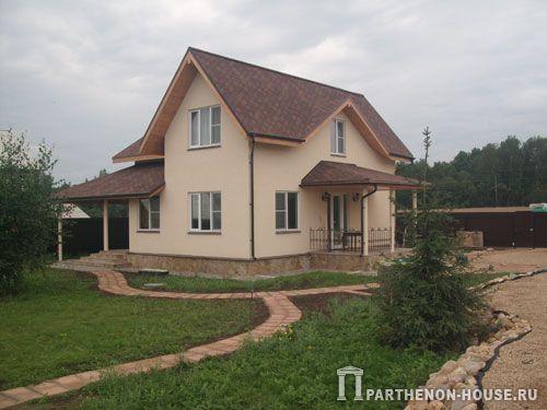 каркасный деревянный домов