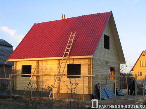 Деревянный дом из бруса деревянный