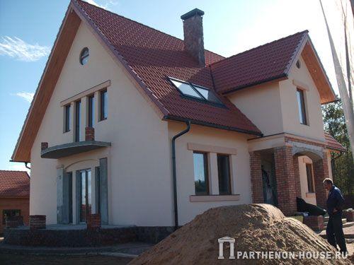 Строительство дома из газобетона под