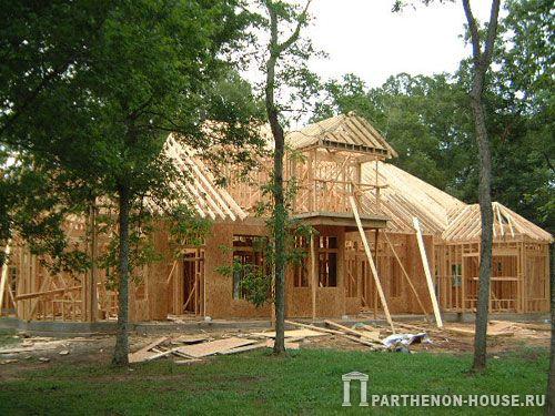 Популярные проекты каркасных домов