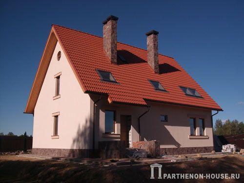 Крыши дома дом из газобетона отделка
