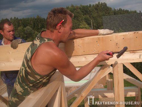 Дома строительство каркасного дома